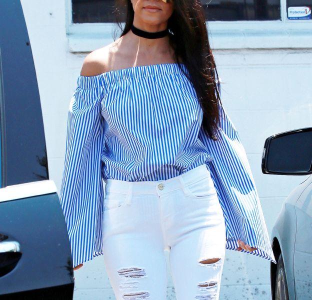 Kourtney Kardashian fait son grand retour en couv de magazines.
