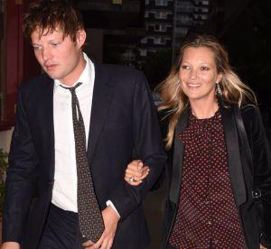 Kate Moss : sortie en amoureux avec son compagnon Nikolaï à Londres