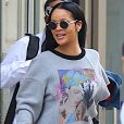 La chanteuse Rihanna à New York