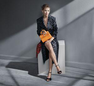 En robe-manteau léopard, Jennifer Lawrence fait le show sur la nouvelle campagne Dior.