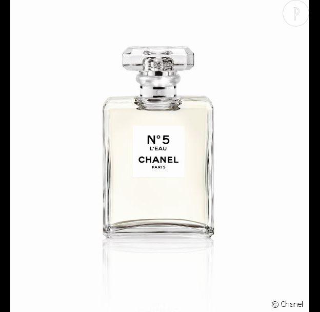 L'eau n°5, Chanel, 89,95€.