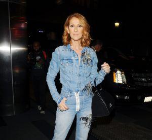 Céline Dion : total look jean dans les rues de LA