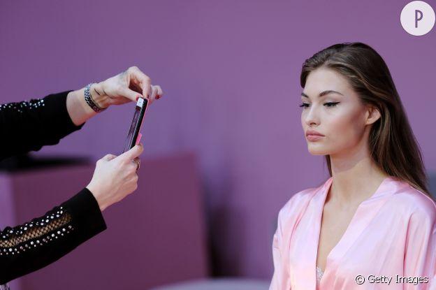 Sur le show Victoria's Secret, les mannequins étaient en accord avec la tendance nude.