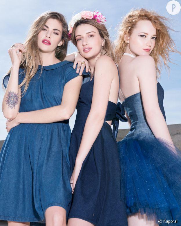 Clara, Gwen, Estelle : les héroïnes d'une campgne très digitale.