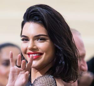 Kendall Jenner : en string et presque topless, elle prend exemple sur Kylie !