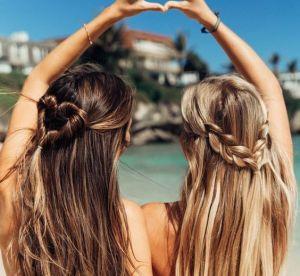 10 coiffures pour être canon à la plage