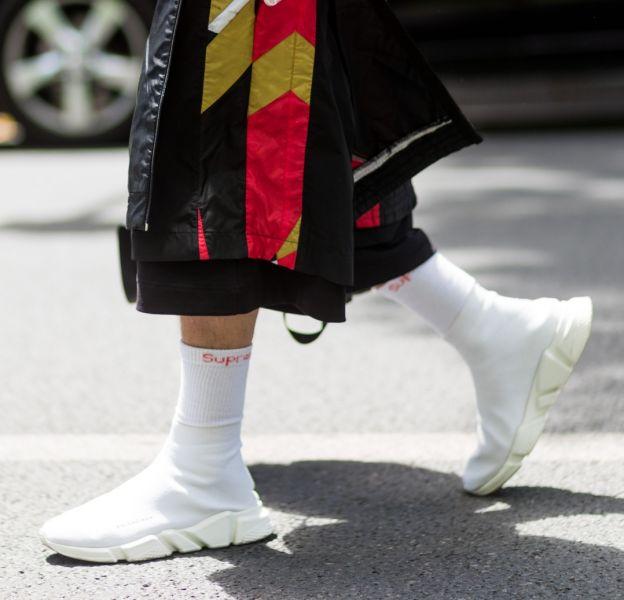 Les baskets-chaussettes, les chaussures les plus improbables du moment