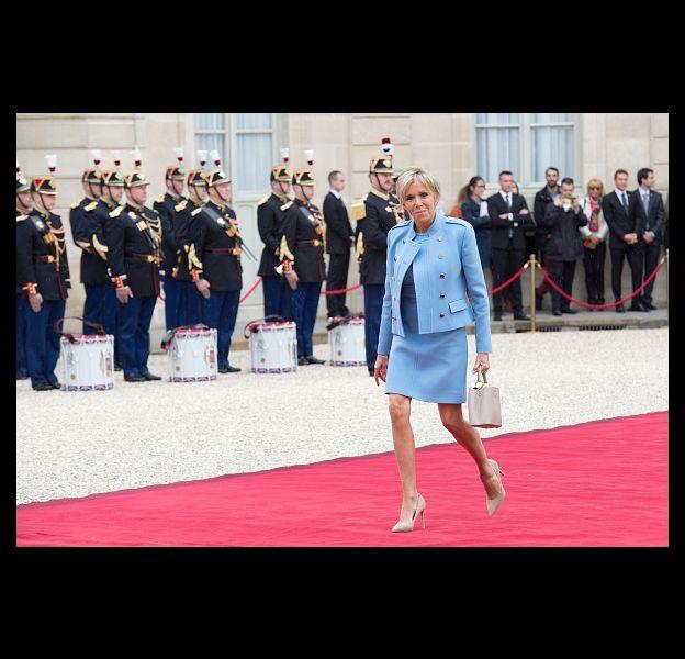 Brigitte Macron, première dame et icone mode.