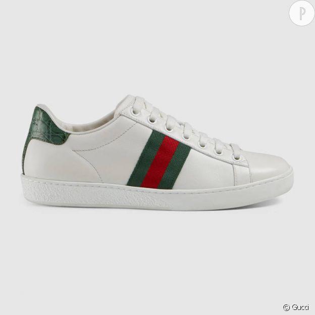 Basket Gucci , 450€.