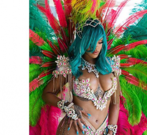 Rihanna plus sexy que jamais au festival de la Barbade