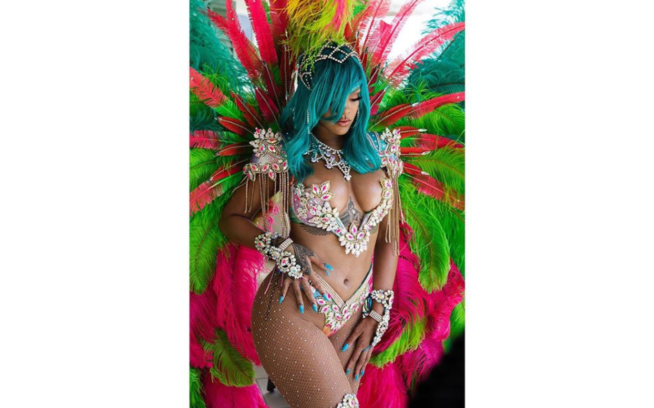 Rihanna, plus sexy que jamais à la Barbade.