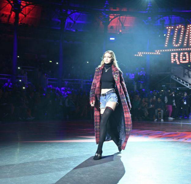 Défile Gigi Hadid et Tommy Hilfiger.