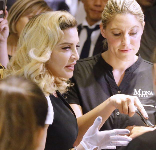 Madonna sort sa gamme de soins.