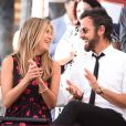 Jennifer Aniston et Justin Theroux vivent une idylle de rêve.
