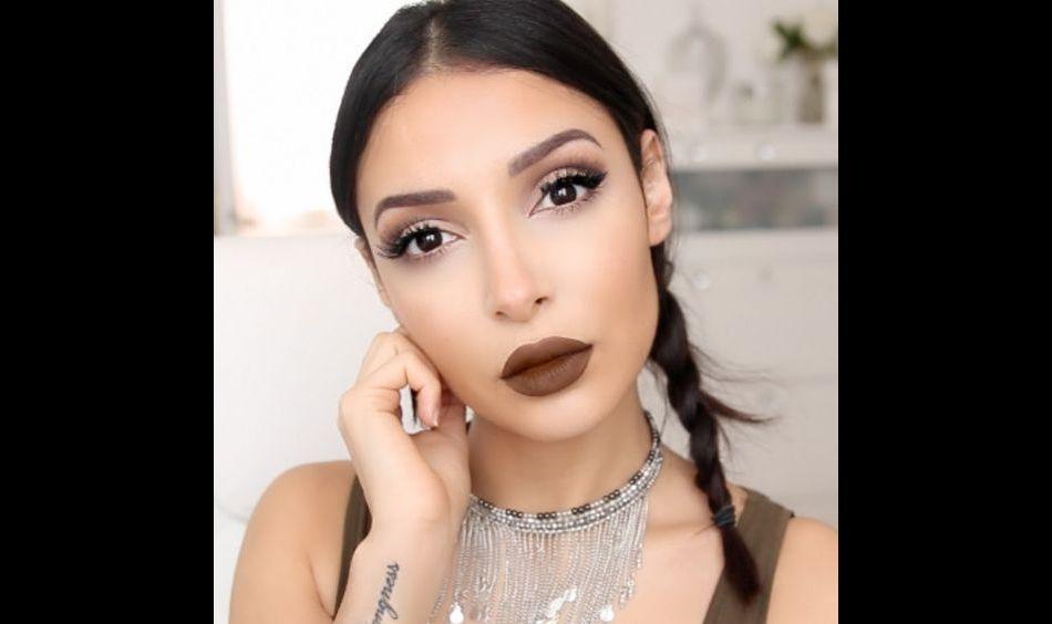 Comment porter le rouge à lèvres marron ?