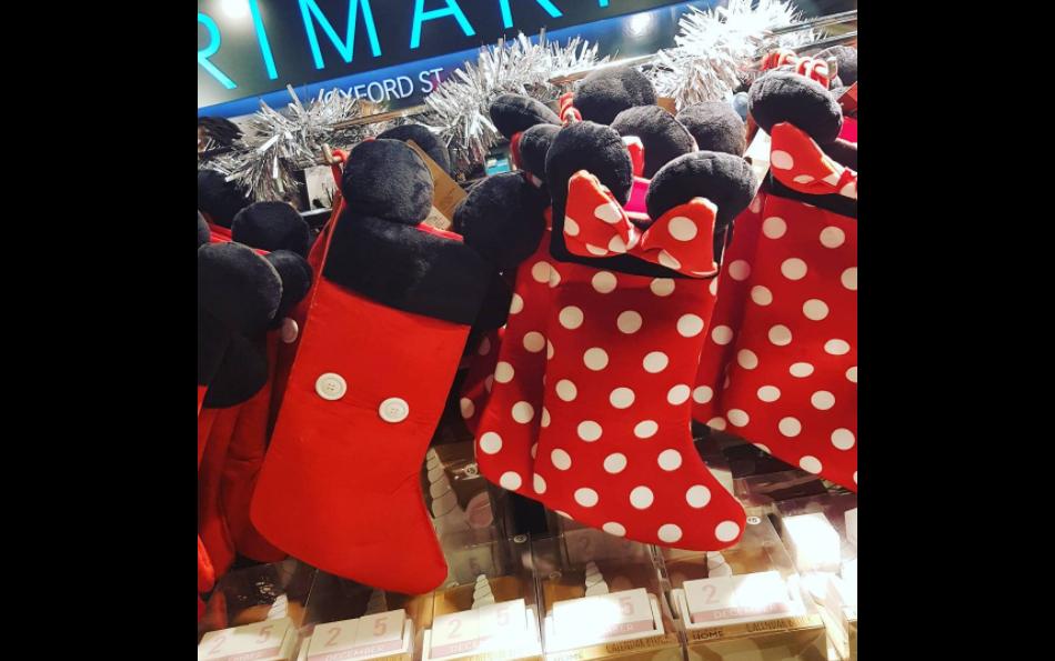 La collection Disney de Noël chez Topshop.