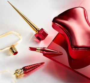 Christian Louboutin beauté : sa brillante collection Metalissime pour noël
