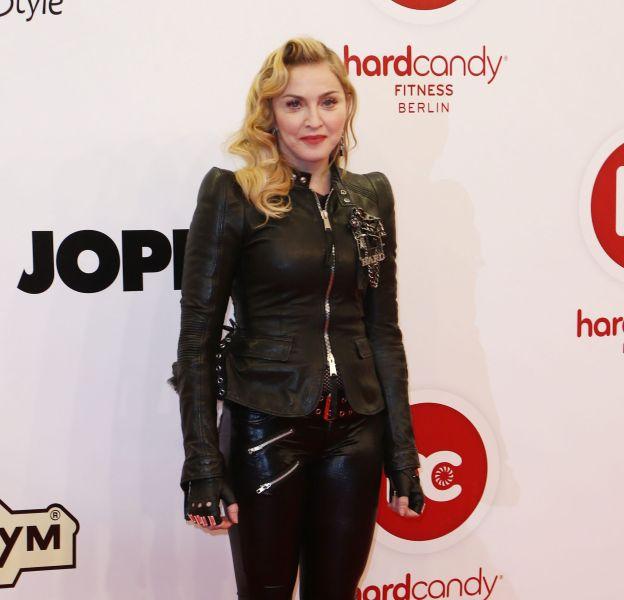 Madonna nue sur Insta