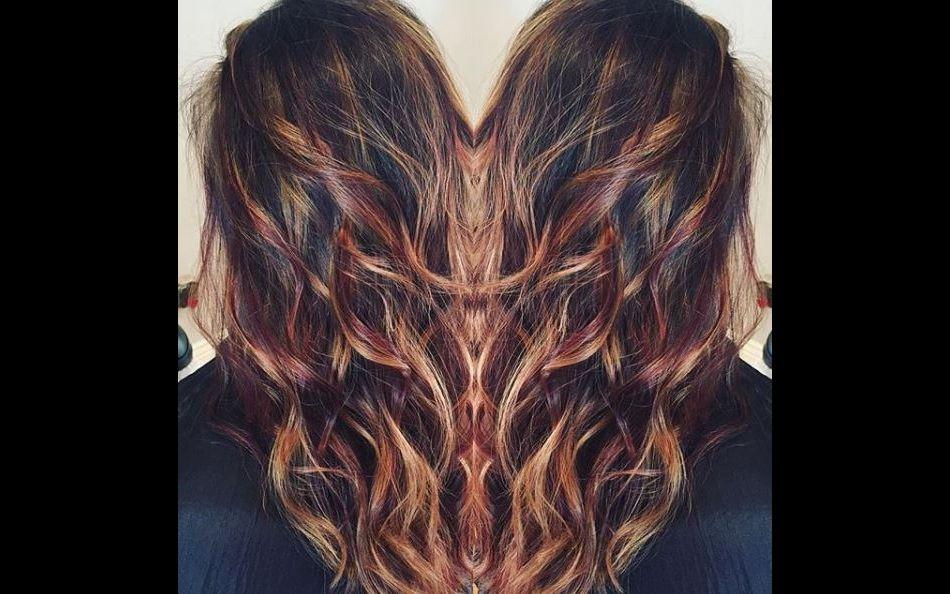 Le peanut butter jelly hair la folle coloration qui buzze sur instagram sen360 fr - Qu est ce qu un balayage ...