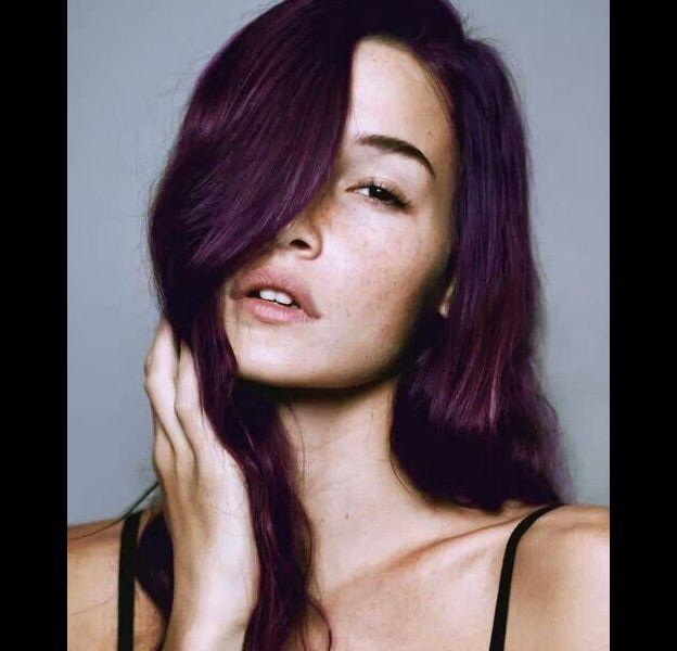L'Aubergine Hair, la coloration de l'hiver 2017-2018.