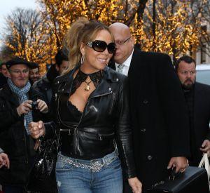 Mariah Carey a fait mouche à Paris dans une tenue très sexy.
