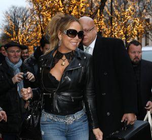 Mariah Carey : over sexy et très amincie pour son arrivée à Paris !