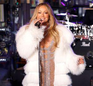 Mariah Carey, plus amincie et sexy que jamais pour sa prestation du nouvel an