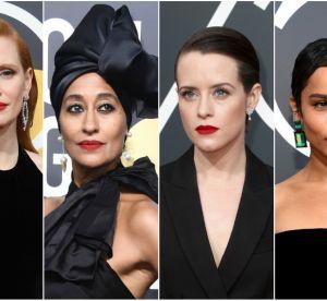 Le lipstick rouge, plus qu'une tendance, une prise de position aux Golden Globes