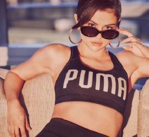 Selena Gomez : sportive sexy pour sa nouvelle pub Puma