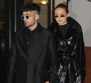 "Gigi Hadid et Zayn Malik se la jouent ""Matrix"" en plein New York."