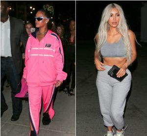 Rihanna, Kim Kardashian... Les stars ne sortent plus qu'en jogging