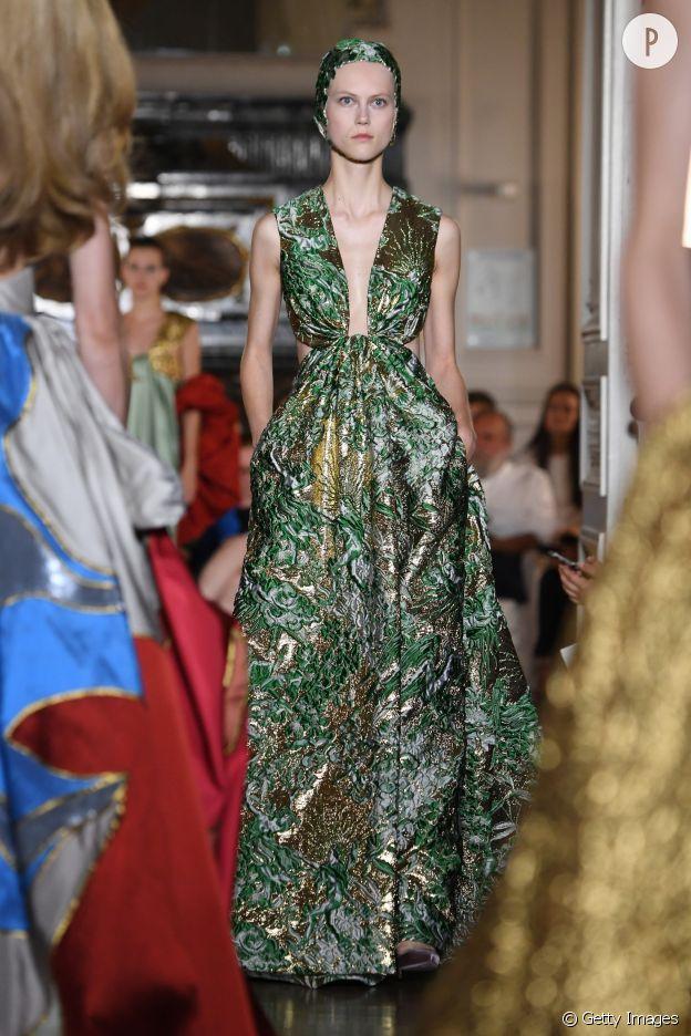 Défilé Valentino Haute Couture Automne-Hiver 2018/2019.