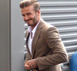 Et si David Beckham nous donnait envie de porter du fard à paupières vert ?