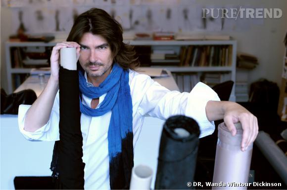 Portrait Stéphane Rolland dans son atelier
