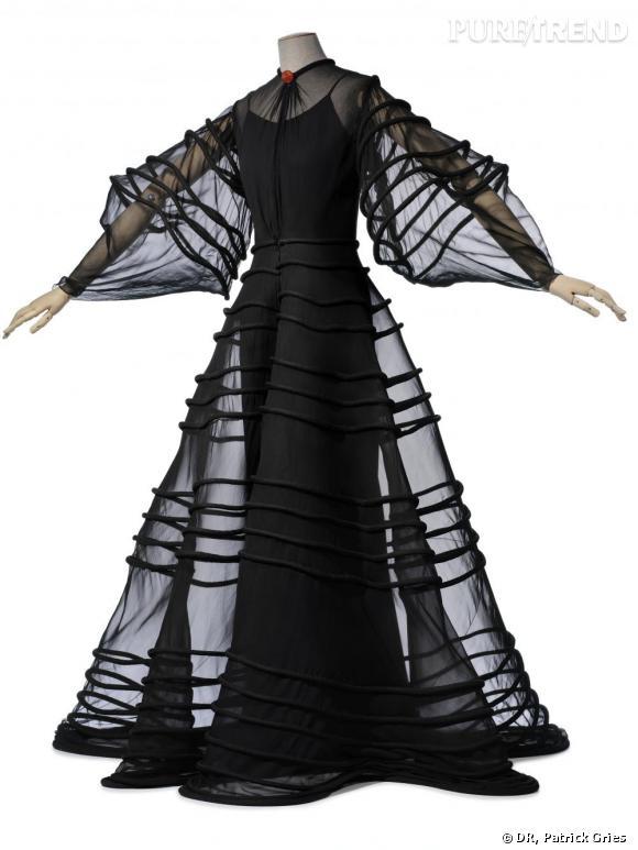 Manteau du soir, été 1936,Les Arts Décoratifs, Union Française des Arts du Costume