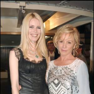 Claudia Schiffer et Alberta Ferreti