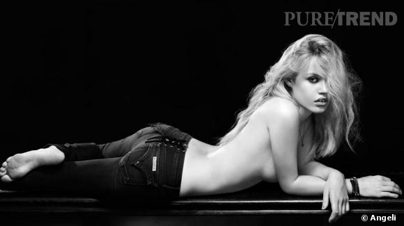 Campagne Hudson Jeans avec Georgia May Jagger