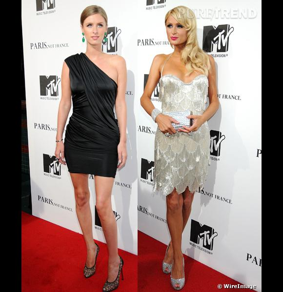 Nicky et Paris Hilton