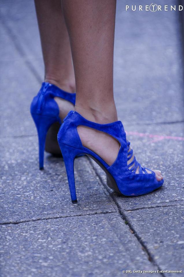 design de qualité b3db7 89569 chaussure bleu electrique zara