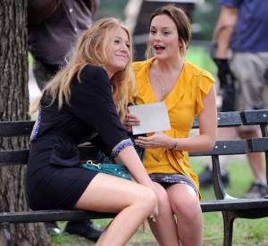 Tournage de Gossip Girl: le défilé de mode continue avec leighton et Blake