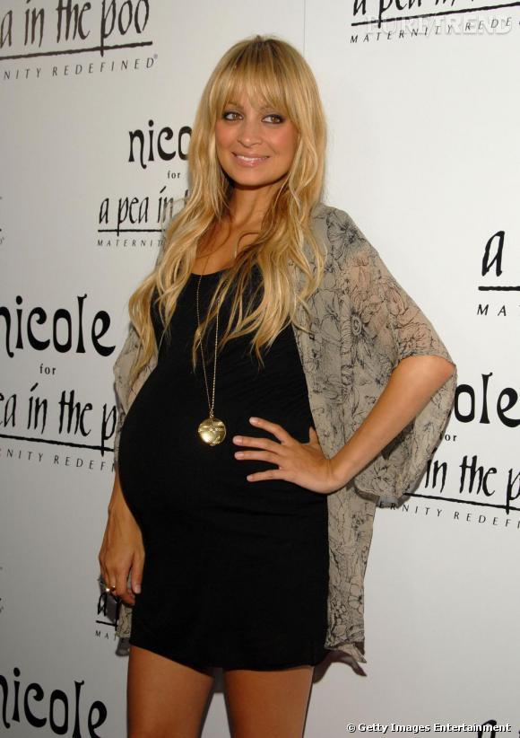 Nicole Richie lors du lancement de sa ligne de vêtements pour femmes enceintes
