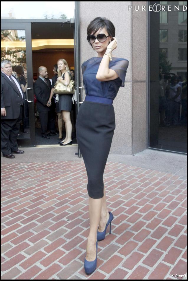 Victoria Beckham a lancé une véritable mode en arborant sa