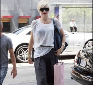 Gwen Stefani, un savant mix transparence et sarouel