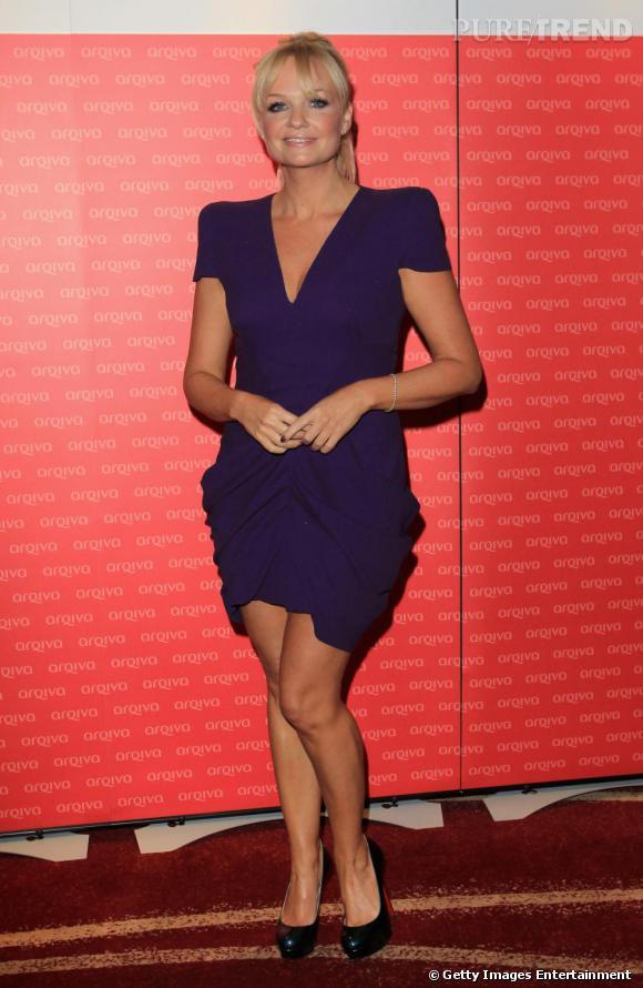 L'ex Baby spice craque aussi pour la maison française, elle adopte un modèle aux reflets bleutés, des Bianca.