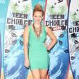 Hilary Duff succombe au modèle nude baptisé Big Lips pour finaliser son look.