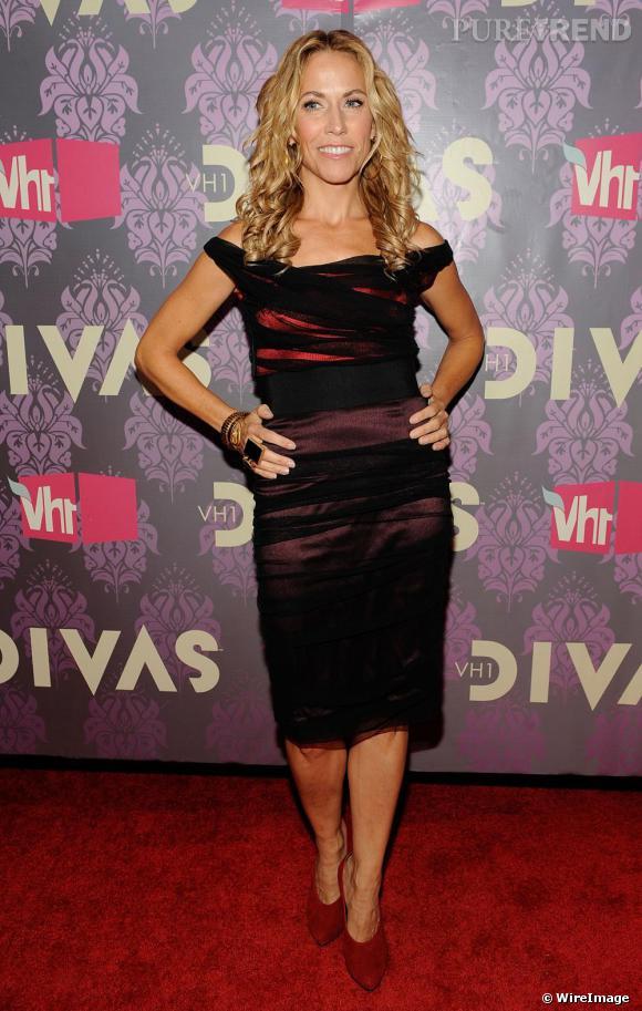 Sheryl Crow sur le tapis rouge du concert VH1 Divas 2009