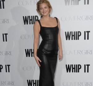 Drew Barrymore, le cuir lui va si bien