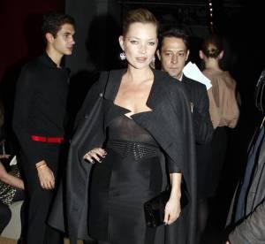 Kate Moss, un look dosé à la perfection