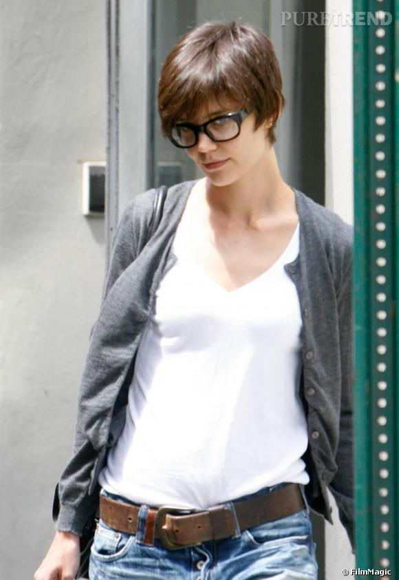 Katie Holmes troque ses lunettes ringardes de l époque Dawson pour une  paire oversized en 8dbffaec7b9b