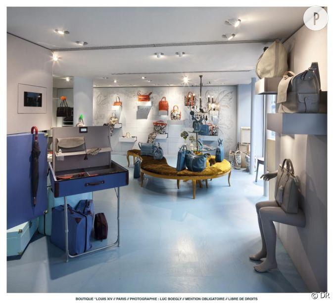 louis quatorze ouvre sa premi re boutique dans le marais. Black Bedroom Furniture Sets. Home Design Ideas